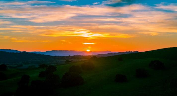 Sunset Santa Ynez 1